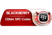 Blackberry CDMA SPC Codes de Deblocage