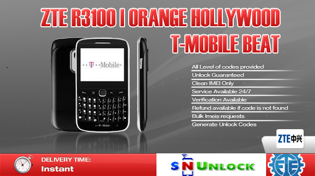 ZTE R3100 | Orange Hollywood | T-Mobile Beat