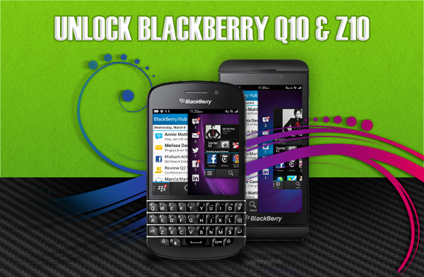 Blackberry Q10 | Z10 Unlock Codes