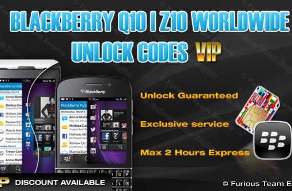 Blackberry Z10 Unlock
